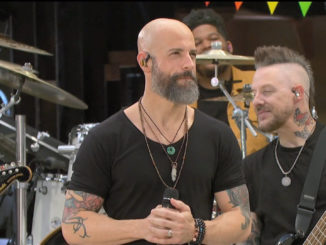 Chris Daughtry and Band perform Heavy is the Crown on The Talk
