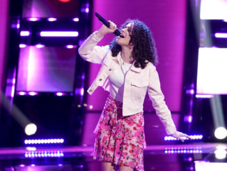 """THE VOICE -- """"Blind Auditions"""" -- Pictured: Hailey Mia -- (Photo by: Tyler Golden/NBC)"""