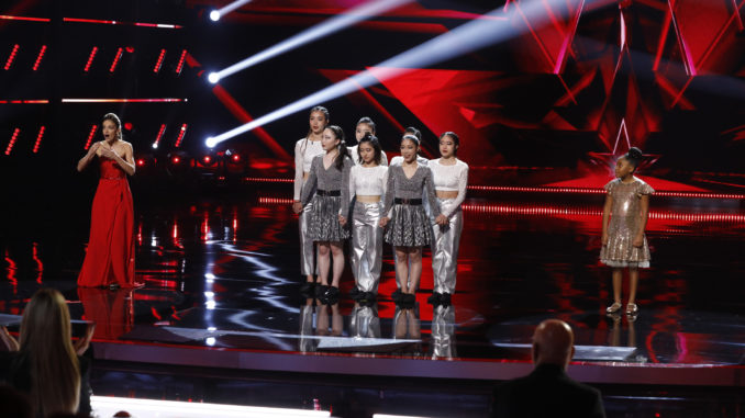 """AMERICA'S GOT TALENT -- """"Semi Finals Results 2"""" Episode 1618 -- Pictured: (l-r) Lea Kyle, UniCircle Flow, Victory Brinker -- (Photo by: Trae Patton/NBC)"""