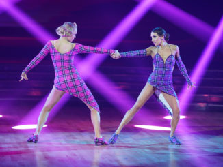 "DANCING WITH THE STARS - ""Britney Night"" - (ABC/Christopher Willard) JOJO SIWA, JENNA JOHNSON"