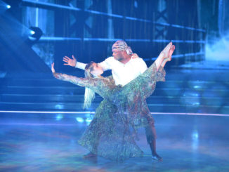 """DANCING WITH THE STARS - """"Horror Night"""" - (ABC/Eric McCandless) JIMMIE ALLEN, EMMA SLATER"""