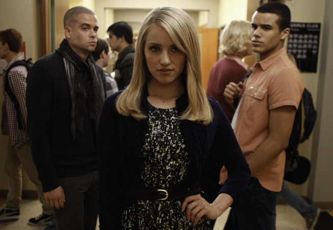Glee Dianna Agron Not Invited to Participate in Cory