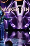 """THE MASKED SINGER: Peacock in the all-new """"Five Masks No More"""" episode of THE MASKED SINGER airing Wednesday, Jan. 16 (9:00-10:00 PM ET/PT) on FOX. © 2019 FOX Broadcasting. CR: Michael Becker / FOX."""