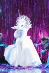 """THE MASKED SINGER: Unicorn in the all-new """"Five Masks No More"""" episode of THE MASKED SINGER airing Wednesday, Jan. 16 (9:00-10:00 PM ET/PT) on FOX. © 2019 FOX Broadcasting. CR: Michael Becker / FOX."""