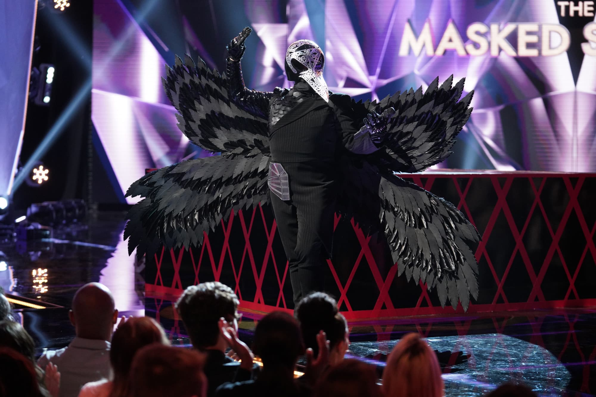 "THE MASKED SINGER: Raven in the ""Another Mask Bites the Dust"" airing Wednesday, Jan. 23 (9:00-10:00 PM ET/PT) on FOX. © 2019 FOX Broadcasting.  Cr: Michael Becker / FOX."