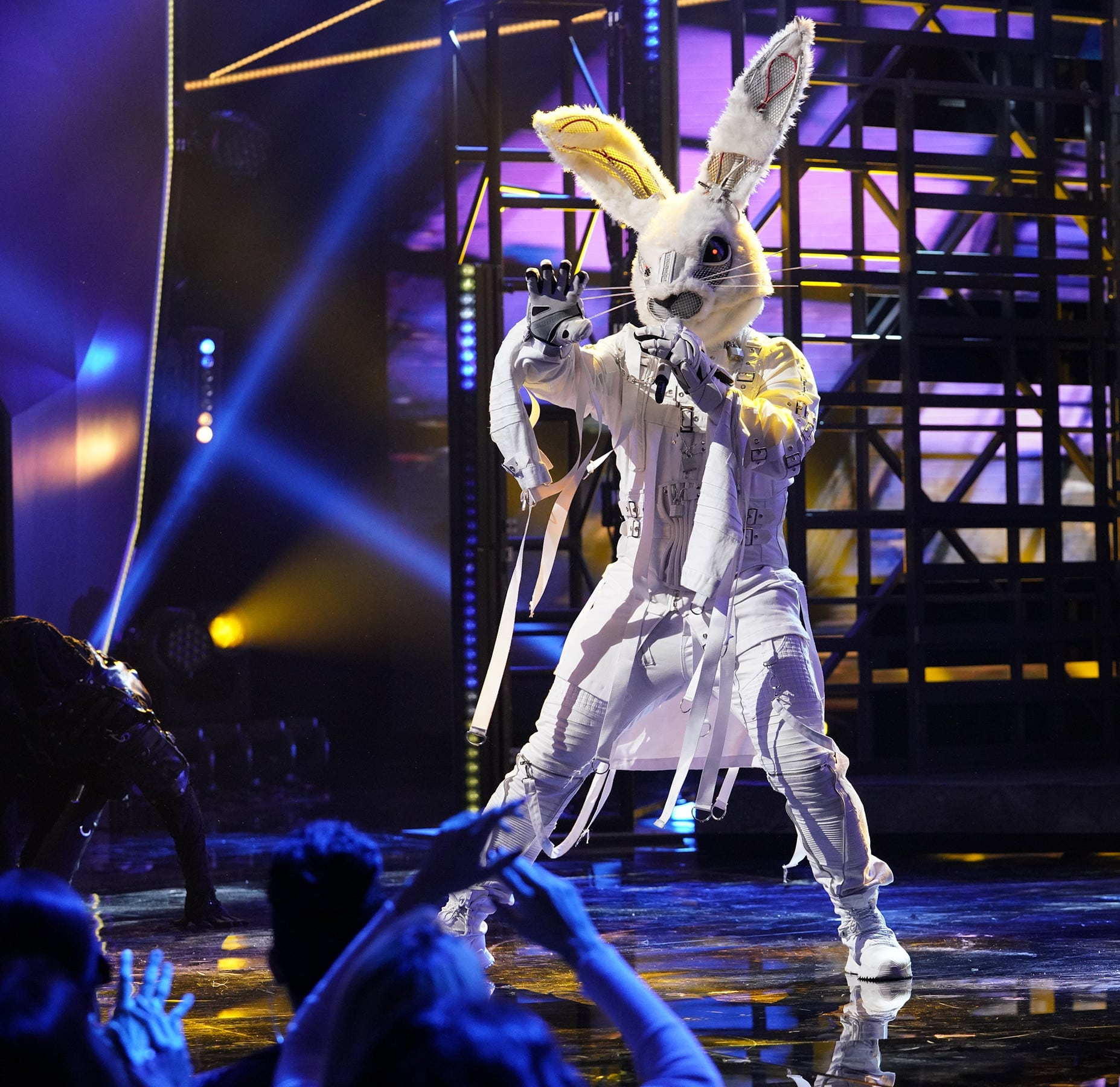 "THE MASKED SINGER: Rabbit in the ""Another Mask Bites the Dust"" airing Wednesday, Jan. 23 (9:00-10:00 PM ET/PT) on FOX. © 2019 FOX Broadcasting.  Cr: Michael Becker / FOX."