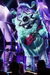 """THE MASKED SINGER: Monster in the """"All Together Now"""" episode of THE MASKED SINGER airing Wednesday, Feb. 13 (9:00-10:00 PM ET/PT) on FOX. © 2019 FOX Broadcasting. Cr: Michael Becker / FOX."""