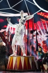 """THE MASKED SINGER: Rabbit in the """"All Together Now"""" episode of THE MASKED SINGER airing Wednesday, Feb. 13 (9:00-10:00 PM ET/PT) on FOX. Cr: Michael Becker / FOX.  © 2019 FOX Broadcasting."""