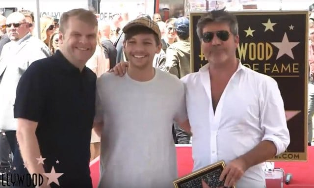 Simon Cowell Hollywood Walk of Fame Ceremony