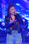 "THE FOUR: BATTLE FOR STARDOM: Challenger Lil Bri performs in the ""Week Seven"" episode of THE FOUR: BATTLE FOR STARDOM airing Thursday, July 26 (8:00-10:00 PM ET/PT) on FOX. CR: Ray Mickshaw / FOX. © 2018 FOX Broadcasting Co."
