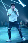 "THE FOUR: BATTLE FOR STARDOM: Challenger Dylan Jacob performs in the ""Week Seven"" episode of THE FOUR: BATTLE FOR STARDOM airing Thursday, July 26 (8:00-10:00 PM ET/PT) on FOX. CR: Ray Mickshaw / FOX. © 2018 FOX Broadcasting Co."