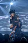 "THE FOUR: BATTLE FOR STARDOM: Challenger Carvena Jones performs in the ""Week Seven"" episode of THE FOUR: BATTLE FOR STARDOM airing Thursday, July 26 (8:00-10:00 PM ET/PT) on FOX. CR: Ray Mickshaw / FOX. © 2018 FOX Broadcasting Co."